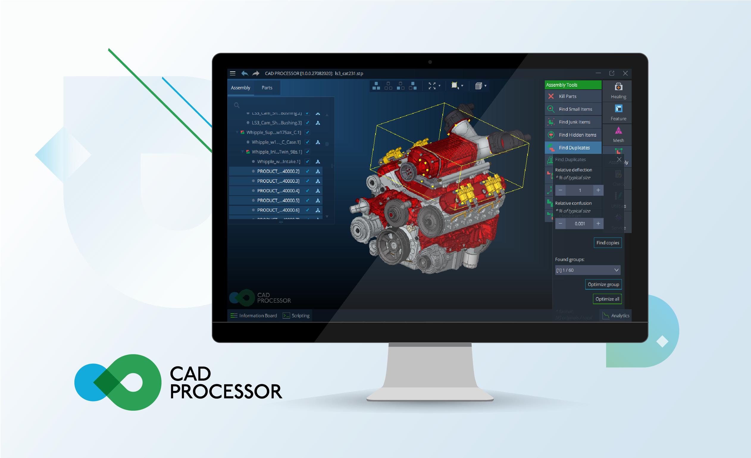 CAD Processor
